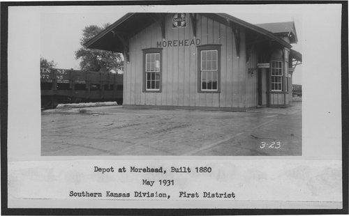 Atchison, Topeka & Santa Fe Railway Company depot, Morehead, Kansas - Page