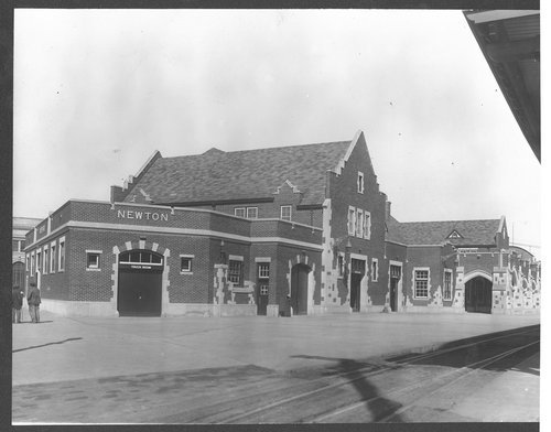 Atchison, Topeka & Santa Fe Railway Company depot, Newton, Kansas - Page