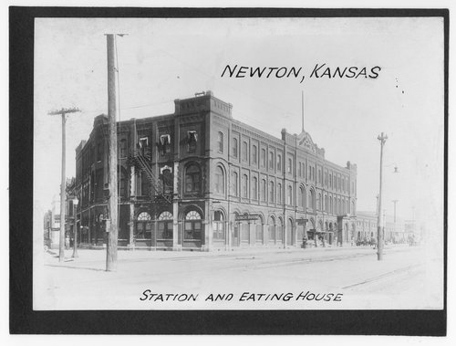 Station and eating house, Newton, Kansas - Page