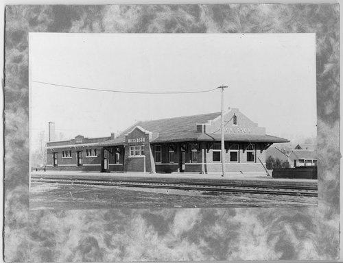 Atchison, Topeka & Santa Fe Railway Company depot, Nickerson, Kansas - Page