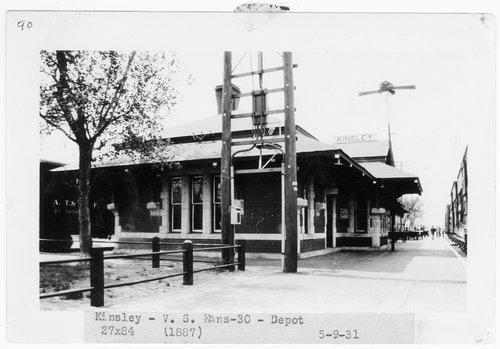 Atchison, Topeka & Santa Fe Railway Company depot, Kinsley, Kansas - Page