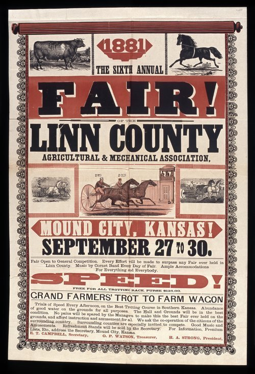 The sixth annual fair of the Linn County Agricultural and Mechanical Association - Page