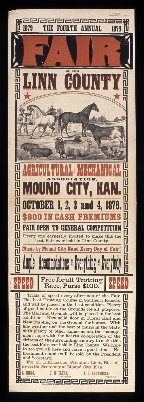 Fourth annual fair of the Linn County Agricultural and Mechanical Association - Page