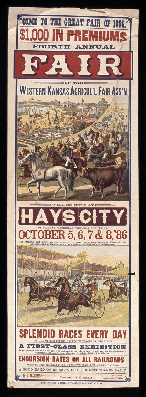 Fourth annual fair of the Western Kansas Agricultural Fair Association - Page