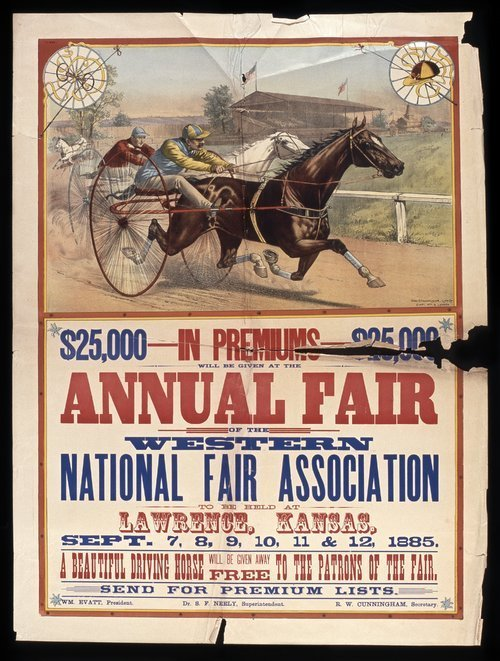 Western National Fair Association, Lawrence, Kansas - Page