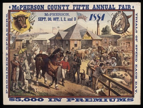 Mcpherson County fifth annual fair - Page