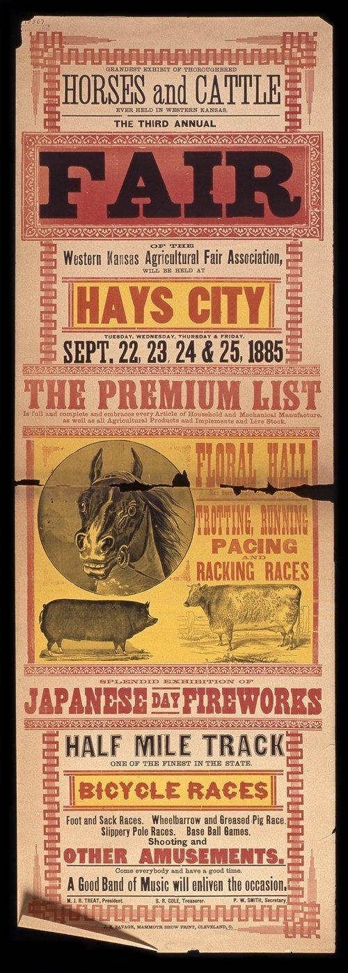 Third annual fair of the Western Kansas Agricultural Fair Association - Page