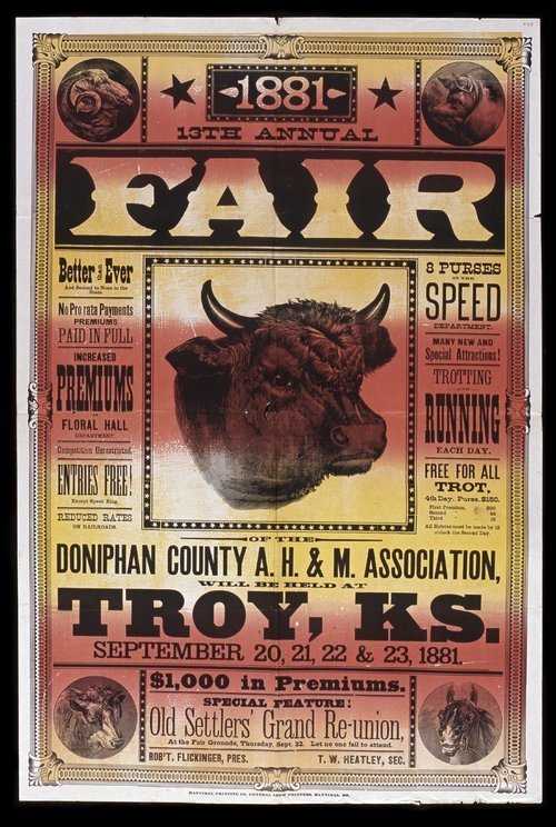 Thirteenth annual fair of the Doniphan County Agricultural, Horticultural and Mechanical Association - Page