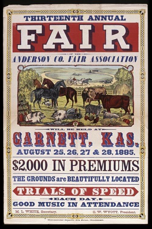 Thirteenth annual fair of the Anderson County Fair Association - Page