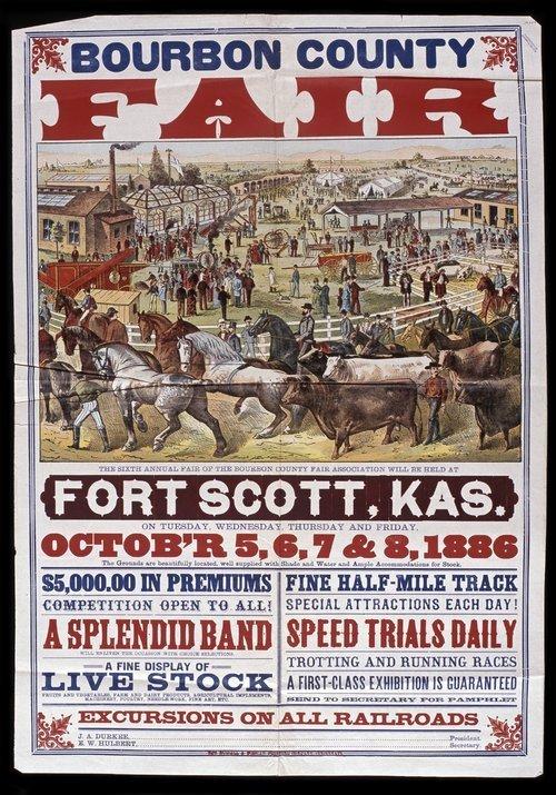 Sixth annual fair of the Bourbon County Fair Association - Page