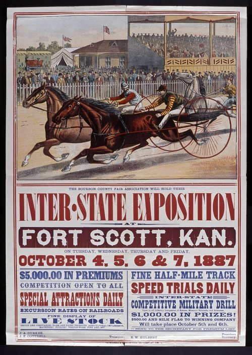 The Bourbon County Fair Association will hold their Inter-State Exposition - Page