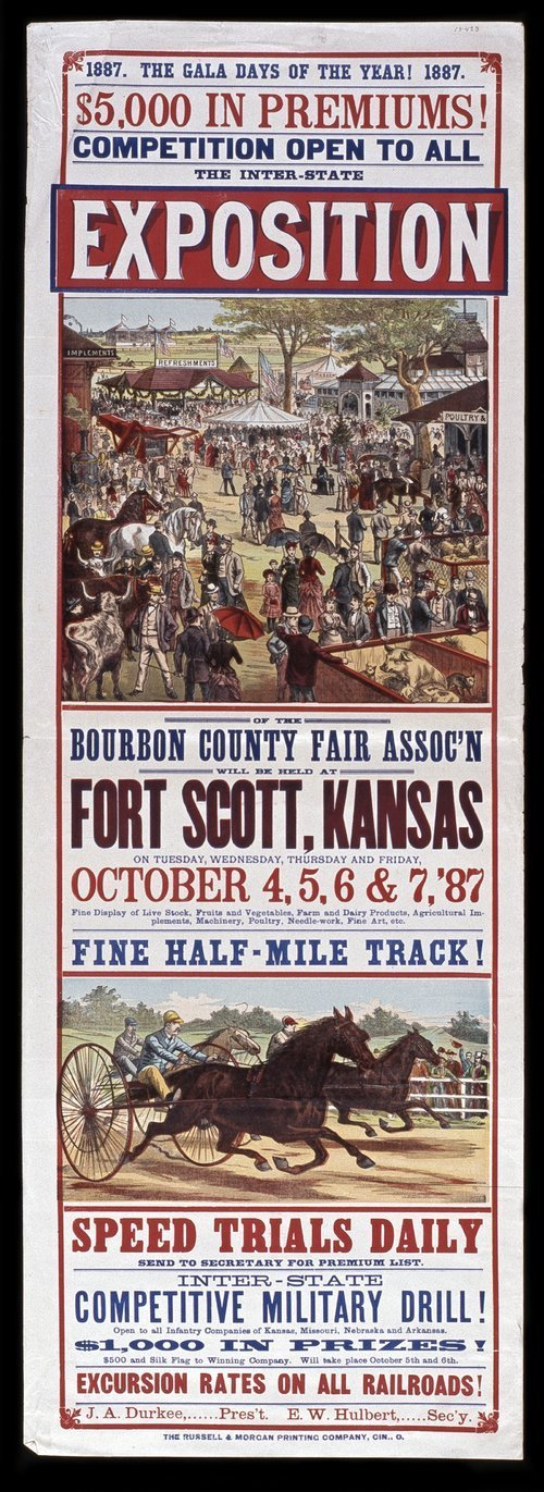 The inter-state exposition of the Bourbon County Fair Association - Page
