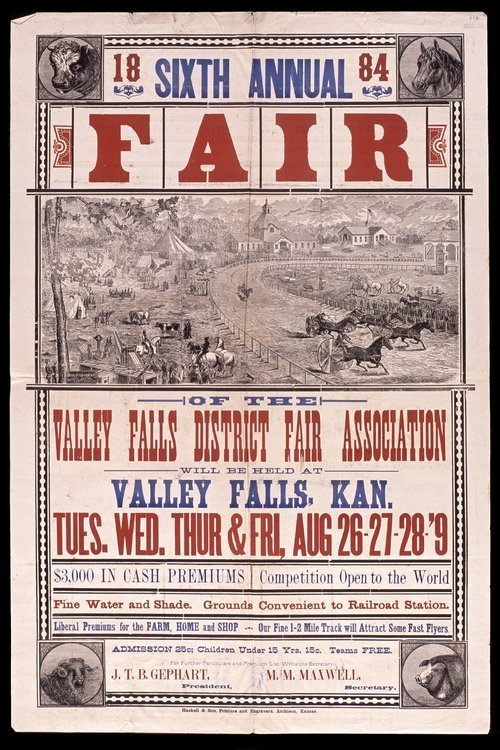 Sixth annual fair of the Valley Falls District Fair Association - Page