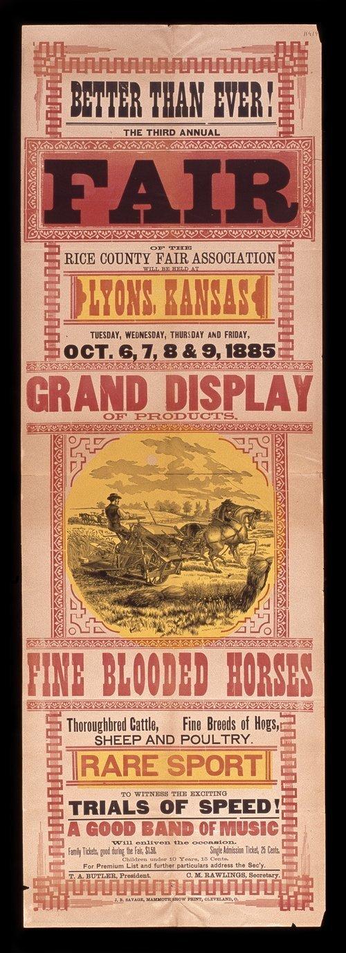 The third annual fair of the Rice County Fair Association - Page