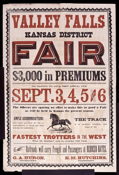 Valley Falls, Kansas, district  fair - Page