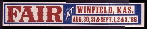 Fair at Winfield, Kansas - Page