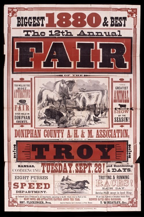 The twelfth annual fair of the Doniphan County Agricultural, Horticultural and Mechanical Association - Page