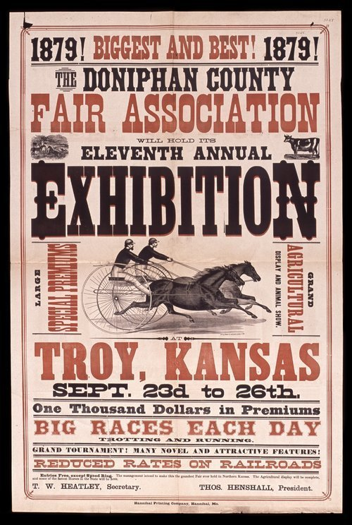 The Doniphan County Fair Association will hold its eleventh annual exhibition - Page