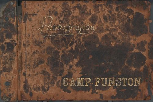Camp Funston photograph album - Page