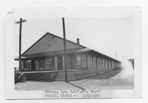 Atchison, Topeka & Santa Fe Railway Company's freight depot, Deming, New Mexico - Page