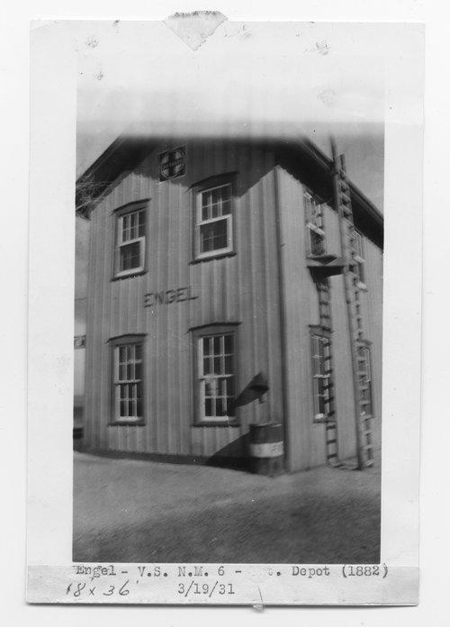 Atchison, Topeka & Santa Fe Railway Company depot, Engel, New Mexico - Page