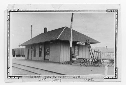 Atchison, Topeka & Santa Fe Railway Company depot, Loving, New Mexico - Page