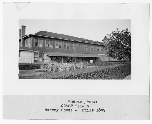 Gulf, Colorado, & Santa Fe Railway Company's Fred Harvey House, Temple, Texas - Page