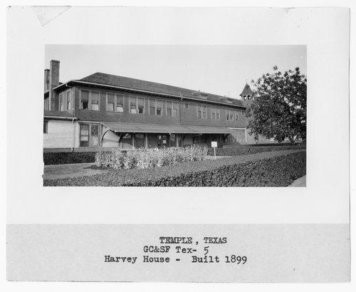 Gulf, Colorado, & Santa Fe Railway Company's Fred Harvey House, Temple, Texas - Page
