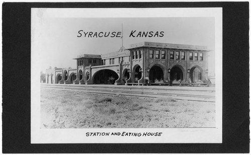 Atchison, Topeka & Santa Fe Railway Company depot & The Fred Harvey Sequoyah Hotel, Syracuse, Kansas - Page