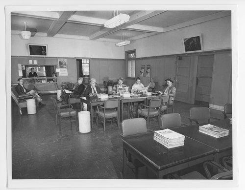 Atchison, Topeka & Santa Fe Railway Company reading room, Waynoka, Oklahoma - Page