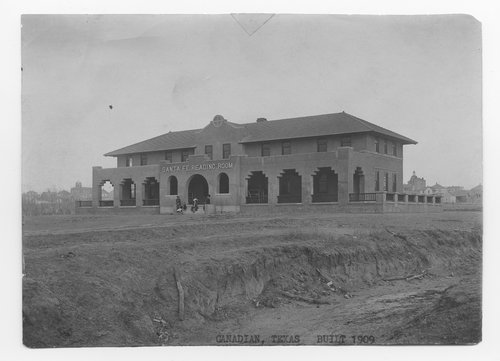Atchison, Topeka &  Santa Fe Railway Company Reading Room, Canadian, Texas - Page