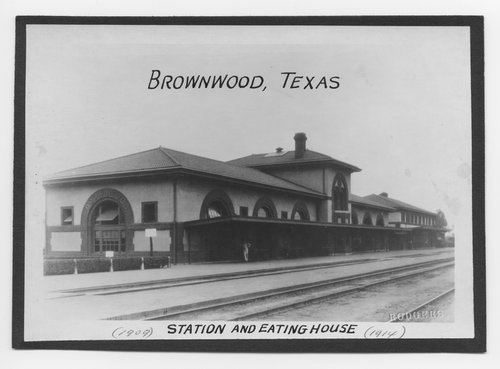 Atchison, Topeka & Santa Fe Railway Company depot, Brownwood, Texas - Page