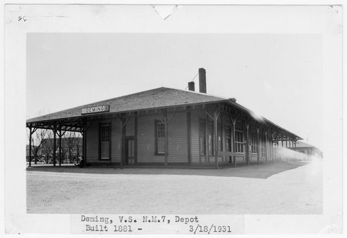 Atchison, Topeka & Santa Fe Railway Company passenger depot, Deming, New Mexico - Page