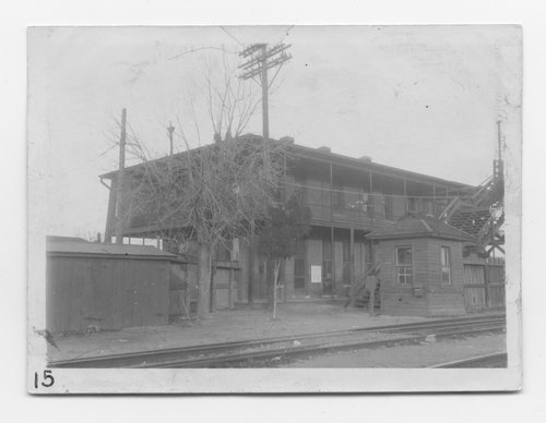 Gulf Colorado & Santa Fe Railway Company depot, yard office, and division offices, Cleburne, Texas - Page