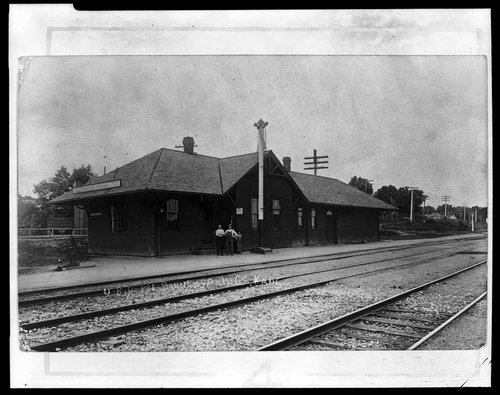 Union Pacific Railroad Company depot, Bonner Springs, Kansas - Page