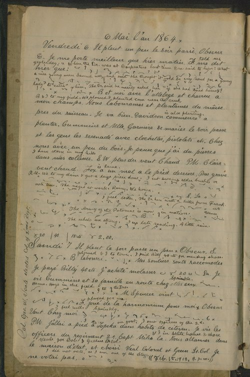 Samuel Reader's diary, volume 6 - Page