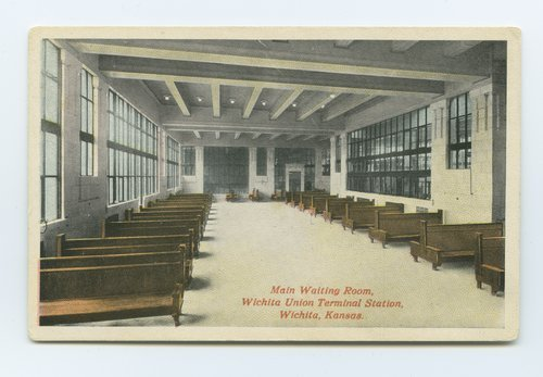 Wichita Union Station waiting room, Wichita, Kansas - Page