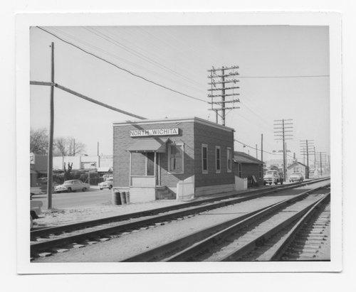 Atchison, Topeka and Santa Fe Railway Company depot, North Wichita, Kansas - Page
