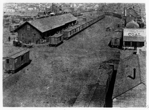 Atchison, Topeka and Santa Fe Railway Company depot, Wichita, Kansas - Page