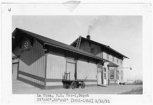 Panhandle & Santa Fe Railway Company depot, La Tuna, Texas - Page