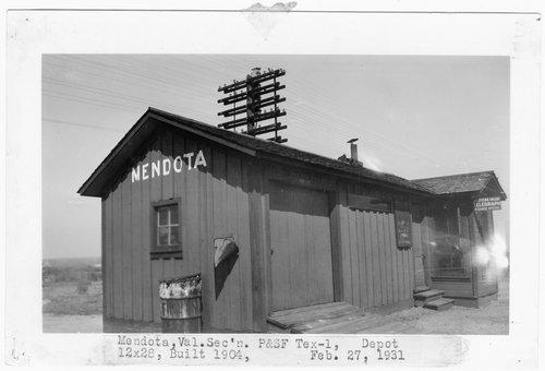 Panhandle & Santa Fe Railway Company depot, Mendota, Texas - Page