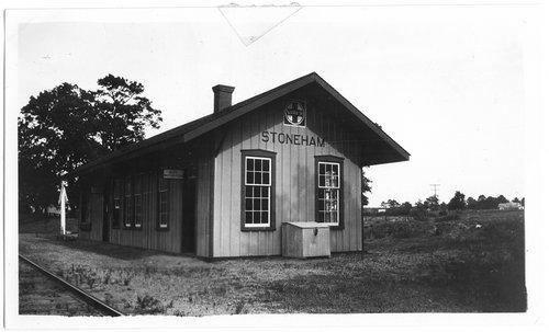 Gulf, Colorado & Santa Fe Railway depot, Stoneham, Texas - Page