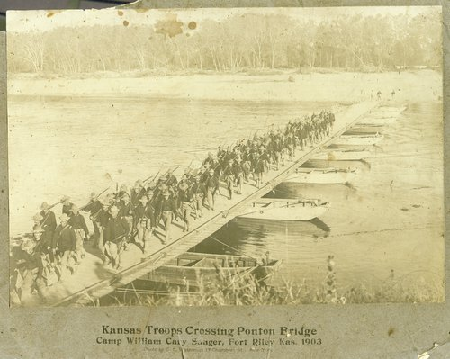 Kansas troops, Fort Riley, Kansas - Page