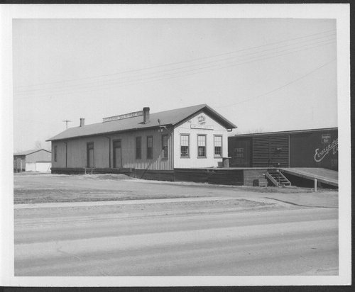 Missouri- Kansas- Texas Railroad freight house, Emporia, Kansas - Page