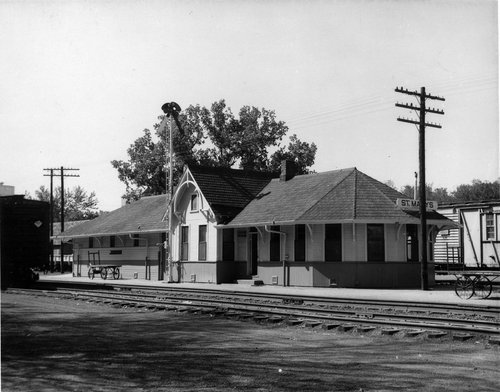 Union Pacific Railroad Company depot, St Marys, Kansas - Page