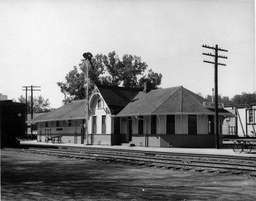 Union Pacific Railroad Company depot, St Marys, Kansas - Page