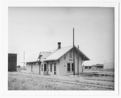 Atchison, Topeka and Santa Fe Railway Company depot, Erie, Kansas - Page