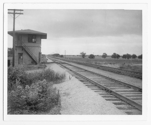 St. Louis-San Francisco Railway interlocking tower, Pleasanton, Kansas - Page