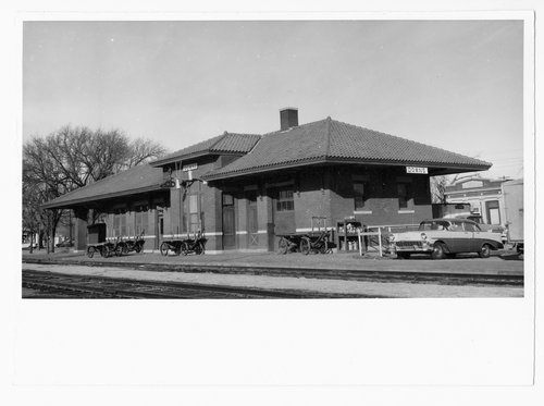 Missouri Pacific Railroad depot, Downs, Kansas - Page
