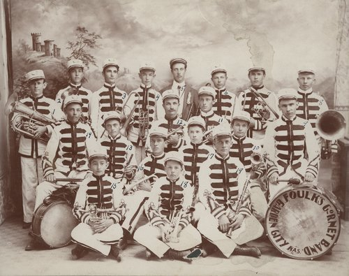 Garden City Foulk's Cornet Band - Page